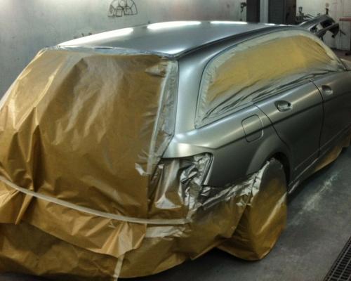 lakering af bil